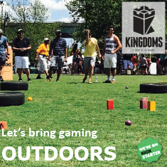 Kingdoms Lawn Game