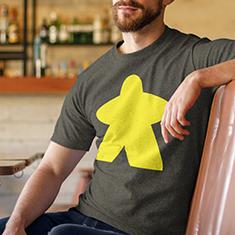 Yellow Meeple Shirt