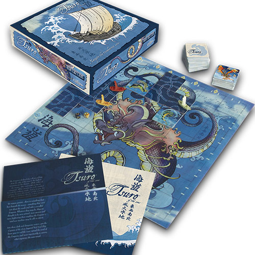 Tsuro of the Seas Components