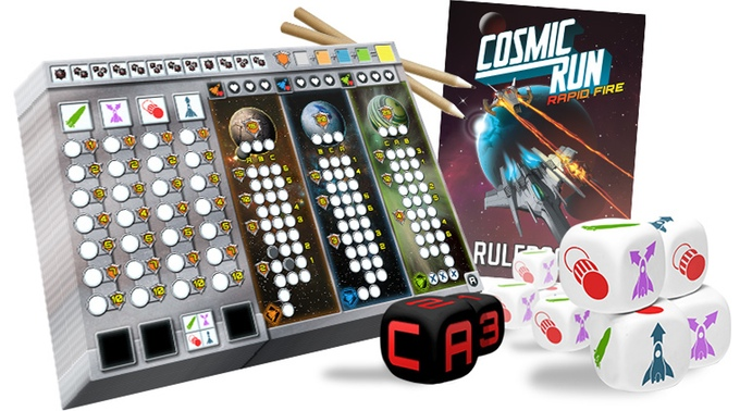 Cosmic Run: Rapid Fire components