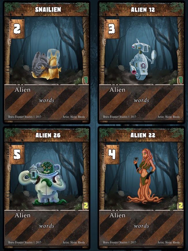 Nightmare Forest cards