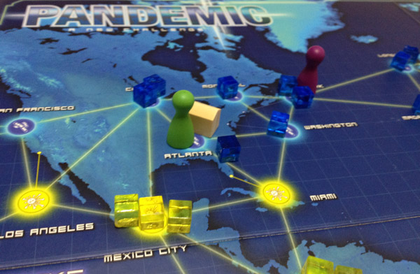 Pandemic close-up