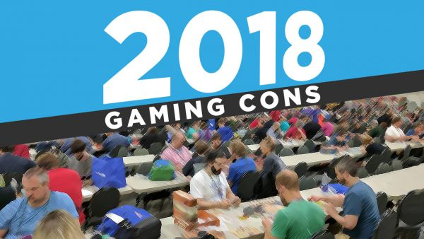 2018 Tabletop Gaming Conventions Map | Casual Game Revolution
