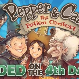 Pepper and Carrot: The Potion Contest