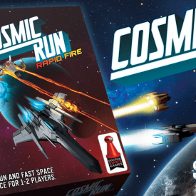 Cosmic Run: Rapid Fire